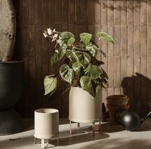 Load image into Gallery viewer, Small Ferm Bau Plant Pot in Cashmere - BTS CONCEPT STORE