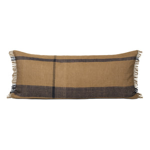 Ferm Dry Cushion Long in Sugar Kelp/Black - 40 x 90
