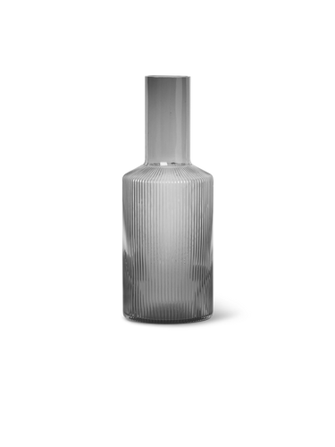 Grey Ripple Carafe - BTS CONCEPT STORE
