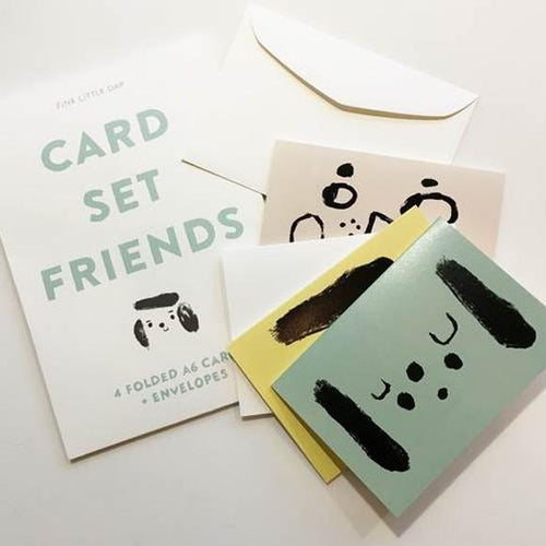 Fine Little Day Friends Card Set - BTS CONCEPT STORE