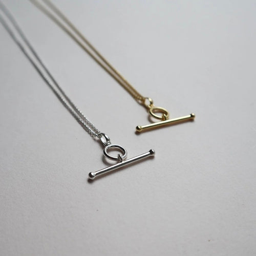 Lines + Current Alberta Bar Necklace - BTS CONCEPT STORE