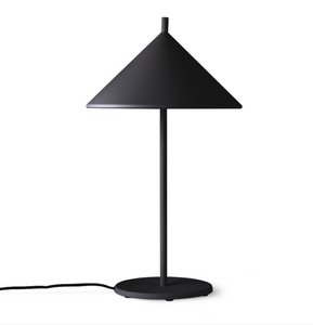 Metal Triangle Table Lamp