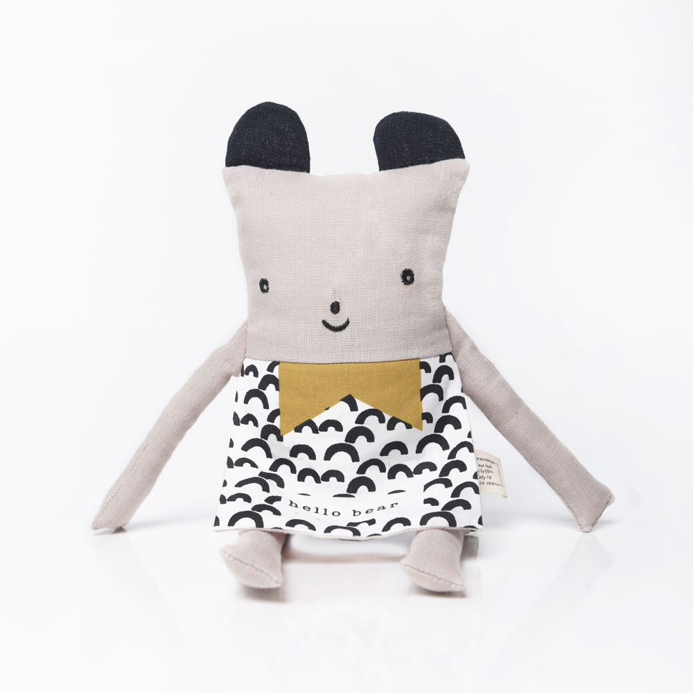 Wee Gallery Flippy Friends - Organic Bear - BTS CONCEPT STORE