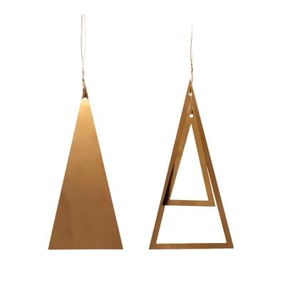 Gold Tree Decorations