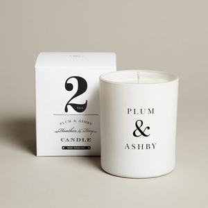 Plum & Ashby No.2 Heather + Hay Glass Jar Candle - BTS CONCEPT STORE