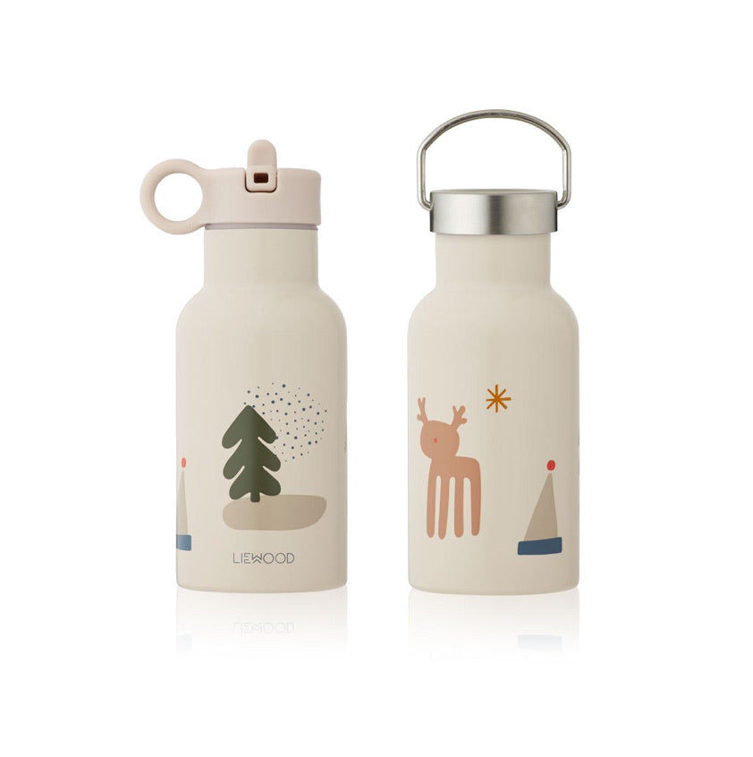 Liewood Anker Water Bottle Holiday Mix