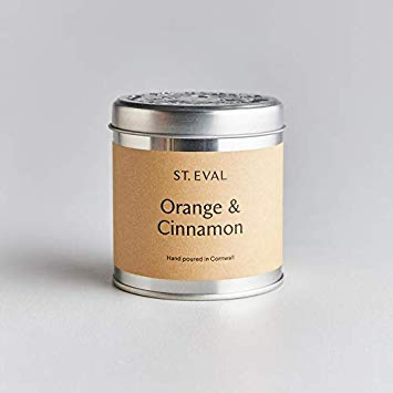 St Eval Orange and Cinnamon Candle Tin - BTS CONCEPT STORE