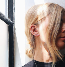 Load image into Gallery viewer, Lines + Current Astrid Climber Earrings