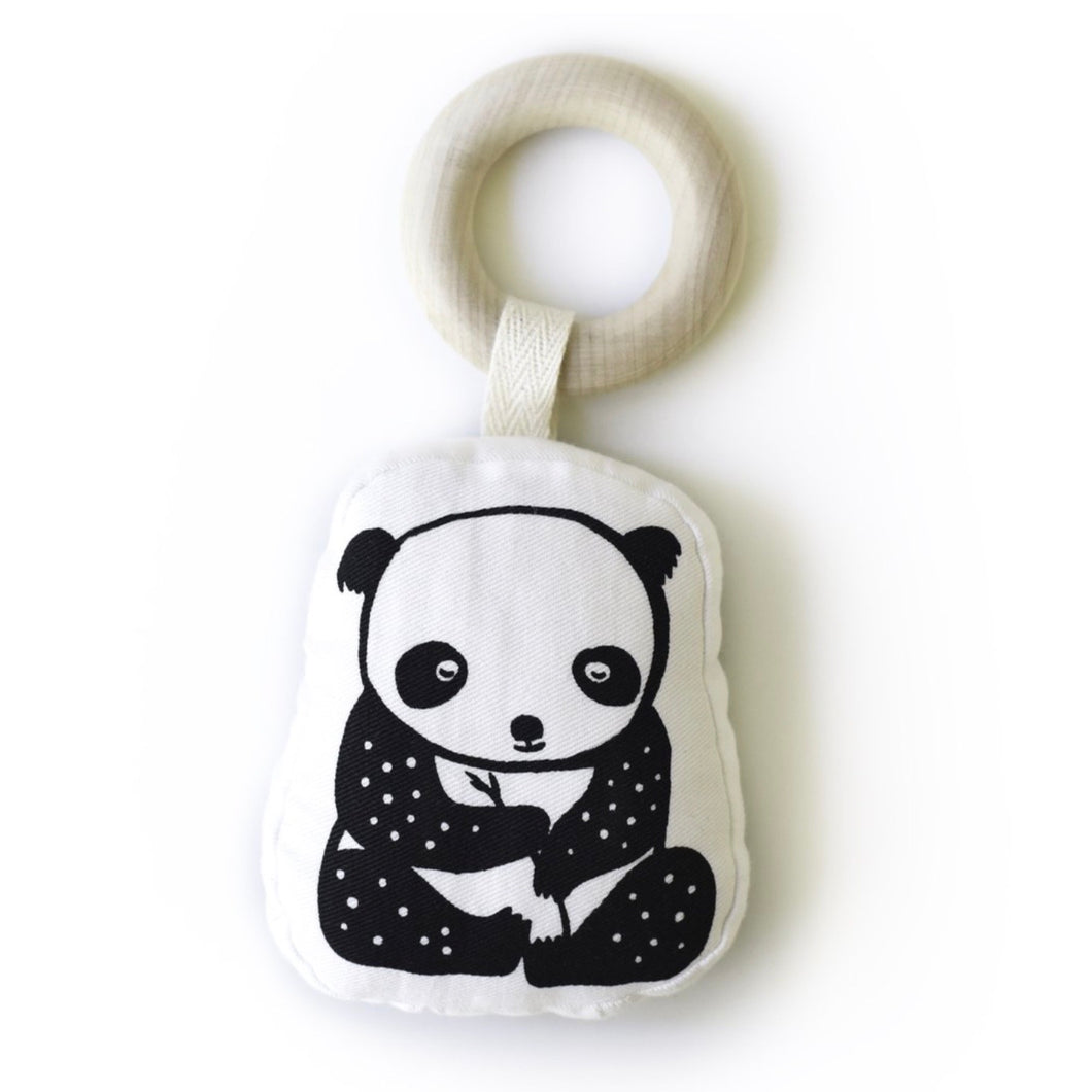 Wee Gallery Organic Panda Teether - BTS CONCEPT STORE