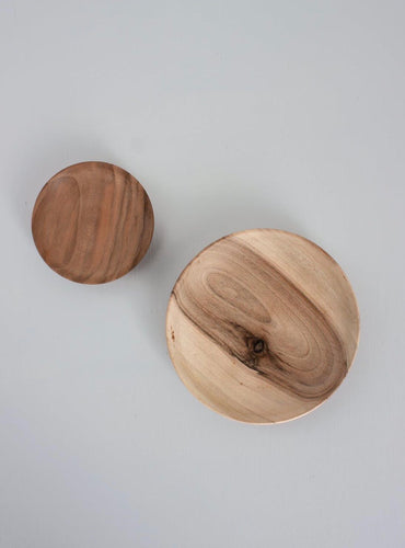 Bohemia Walnut Wood Dishes