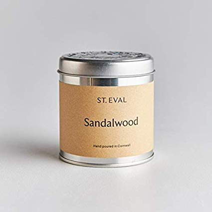 St Eval Sandalwood Tin Candle - BTS CONCEPT STORE