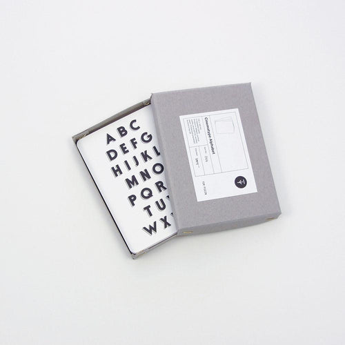 Tom Pigeon Cinematype Alphabet Cards Box - BTS CONCEPT STORE