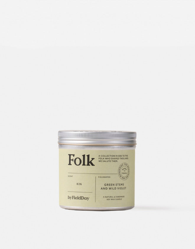 Folk Tin Candle: Kin