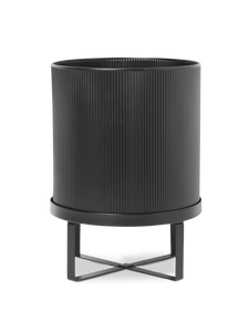 Large Ferm Bau Plant Pot in Black