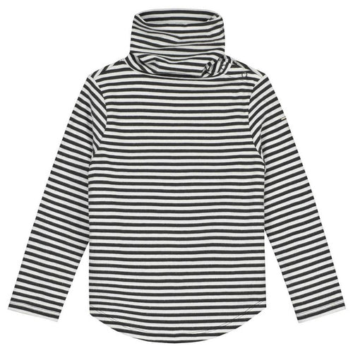 Gray Label Kids Organic Cotton Long Sleeve Turtleneck T-Shirt