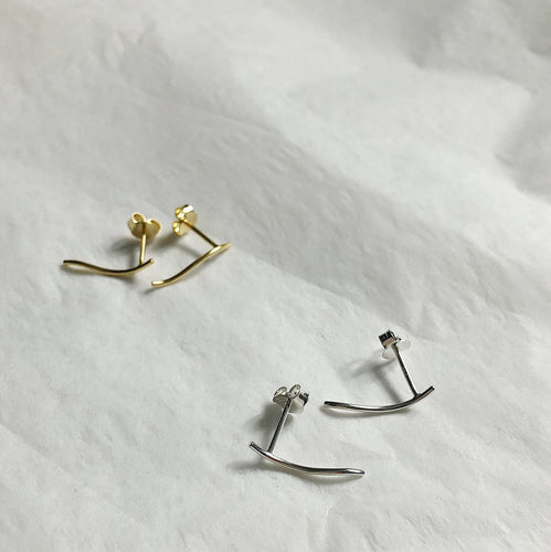 Lines + Current Astrid Climber Earrings