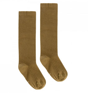 Kids Long Ribbed Socks