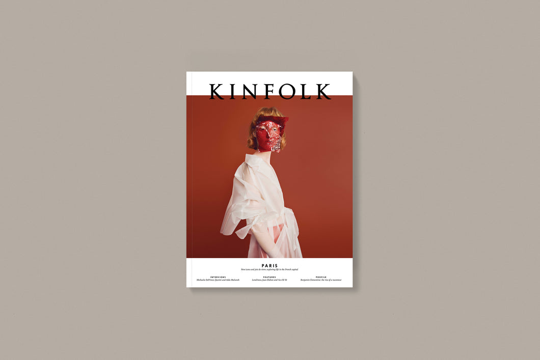 Kinfolk Issue 27 Paris - BTS CONCEPT STORE