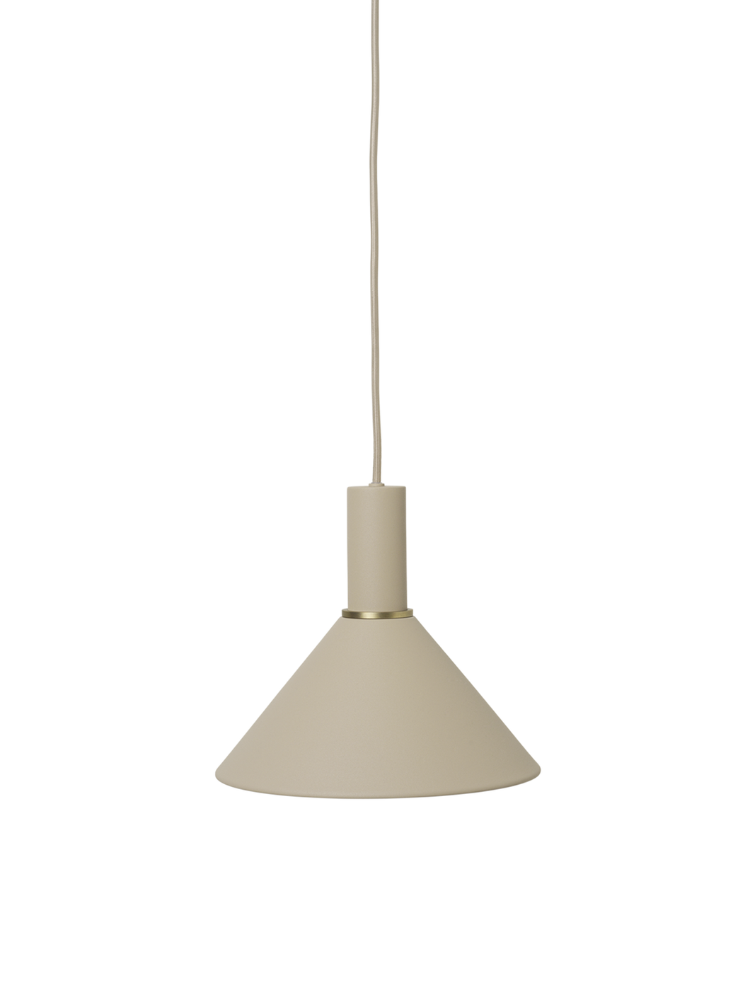 Ferm Living Collect Lighting Cashmere Cone Shade - BTS CONCEPT STORE