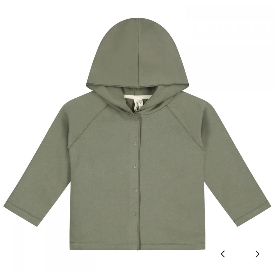 Gray Label Organic Cotton Kids Hooded Cardigan