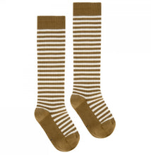 Load image into Gallery viewer, Kids Long Ribbed Socks
