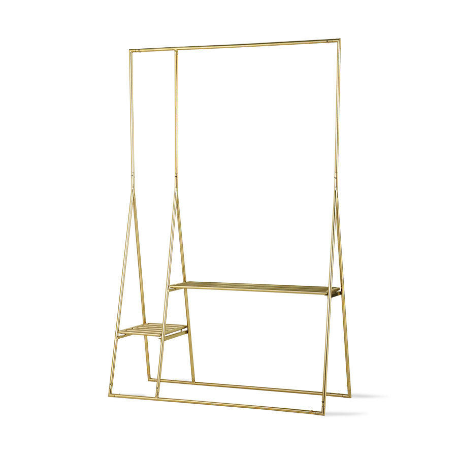 HK Living Brass Clothing Rack - BTS CONCEPT STORE