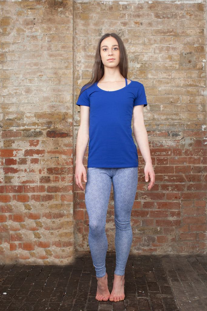 Blue Mood Festive Sleepwear / Loungewear / Home Yoga Set