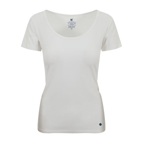 Cotton Comfort Tee White