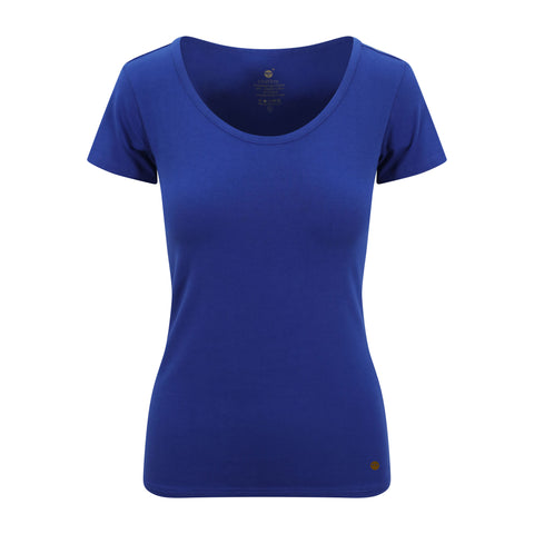 Cotton Comfort Tee Blue