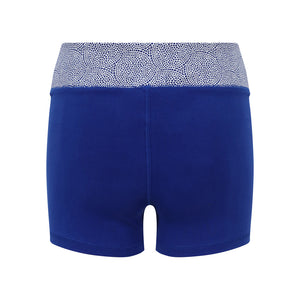 Cool Chakra Yoga Shorts Blue