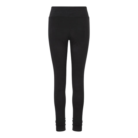 Ruched Bottom Leggings Black