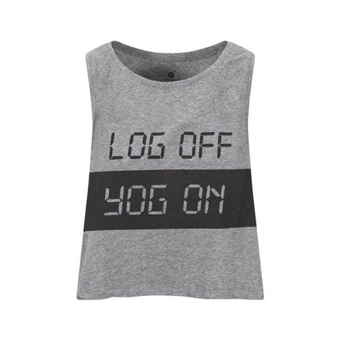 Log Yog Crop Grey