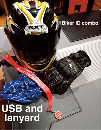 Bikers/Sports Emergency ID combo