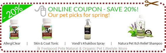 20% OFF Pet Spring Products