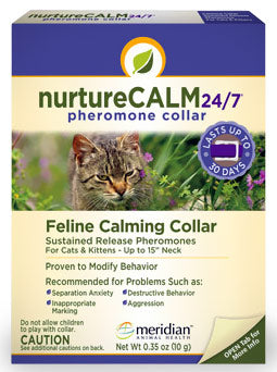 NurtureCalm 24/7 Calming Collar for Cats