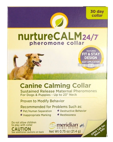 NurtureCalm 24/7 Canine Calming Collar for Dogs