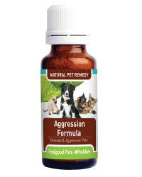 Aggression Formula: Homeopathic remedy for aggressive pets (Buy 3 Get 1 FREE)