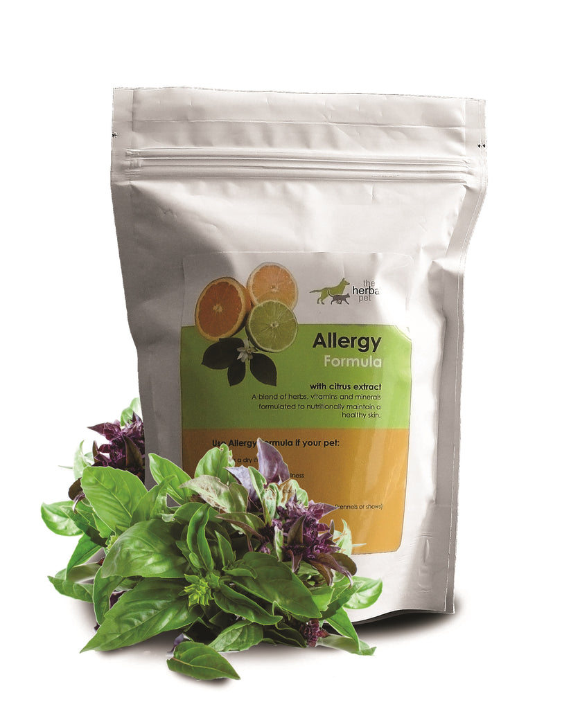 Herbal Pet Allergy Formula Pack (500g) - Formulated to nutritionally maintain a healthy skin and coat!