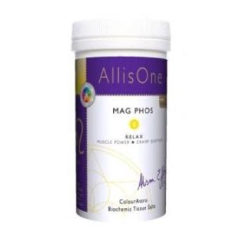 AllisOne Mag Phos. Nerve Nutrient, Relieves Stress, Pain, Spasms & Cramps