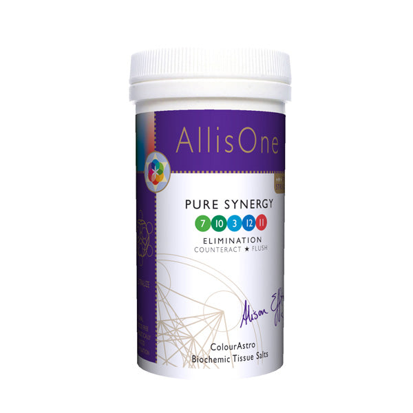 AllisOne Pure Synergy Tissue Salts: Liver, Kidney, Detox