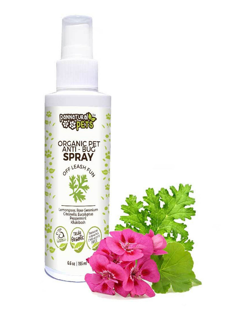 Natura Pets Anti-Bug Spray - Natural Insect Repellent
