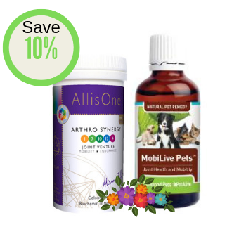 Savings Combo - Herbal remedy plus tissue salts for pet joint comfort