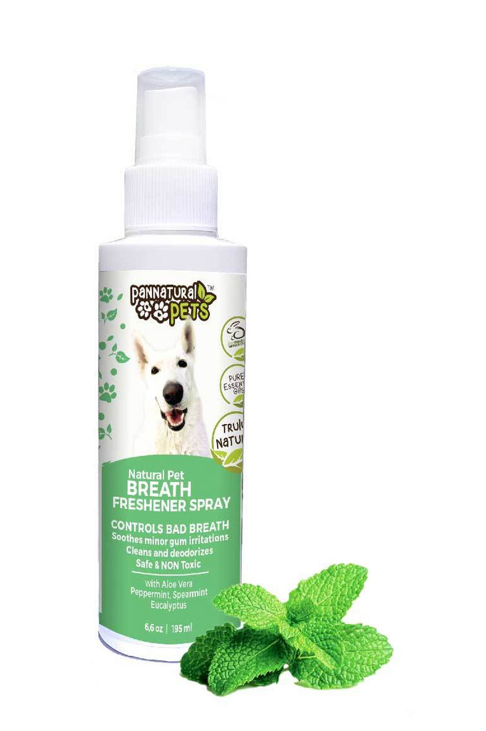 Natura Pet All Natural Dog Breath Freshener for Sweet Smelling Breath