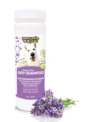 All Natural Dry Pet Shampoo - Fur Refreshing Lavender Powder