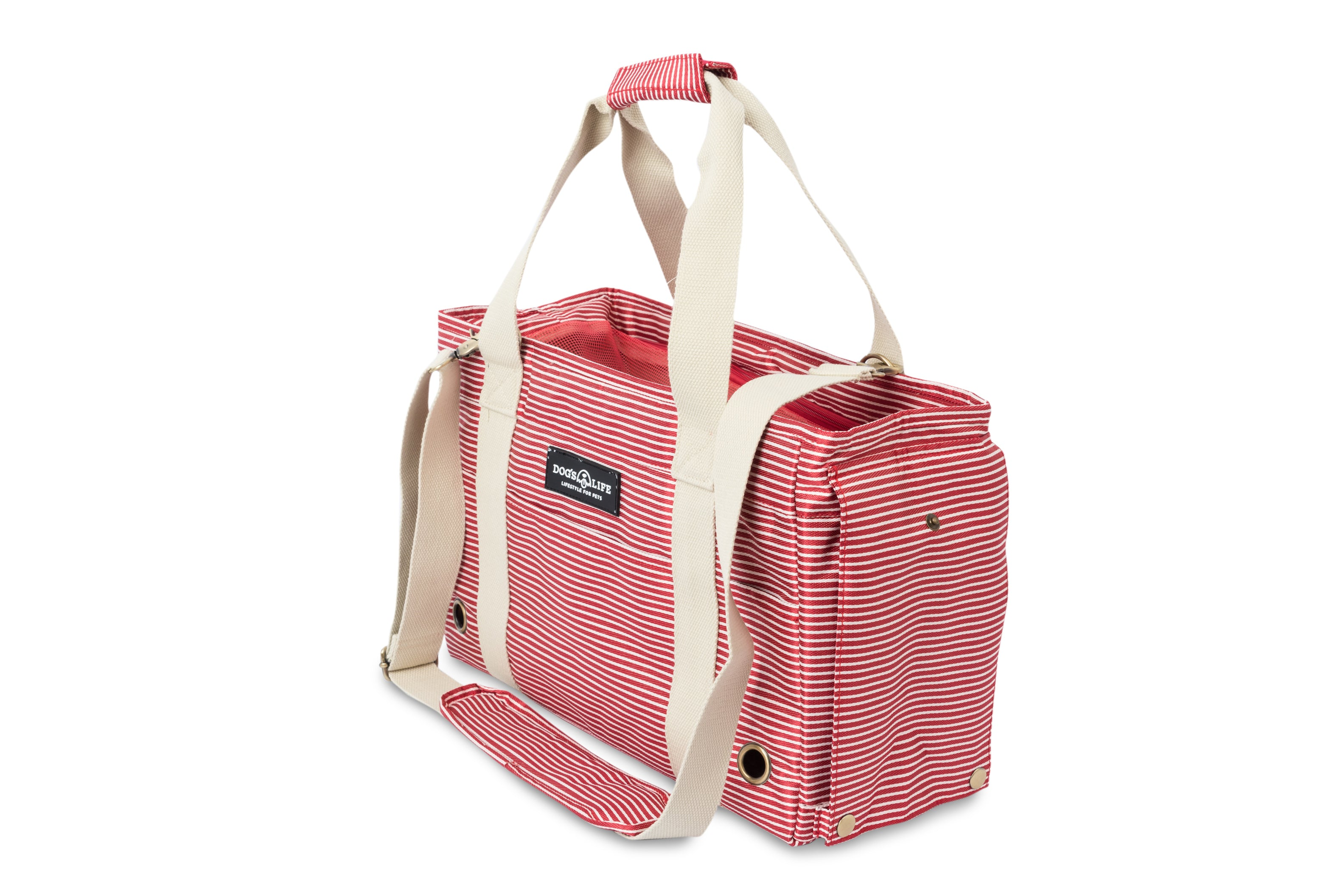 Dog's Life Pet Carrier Bag Red