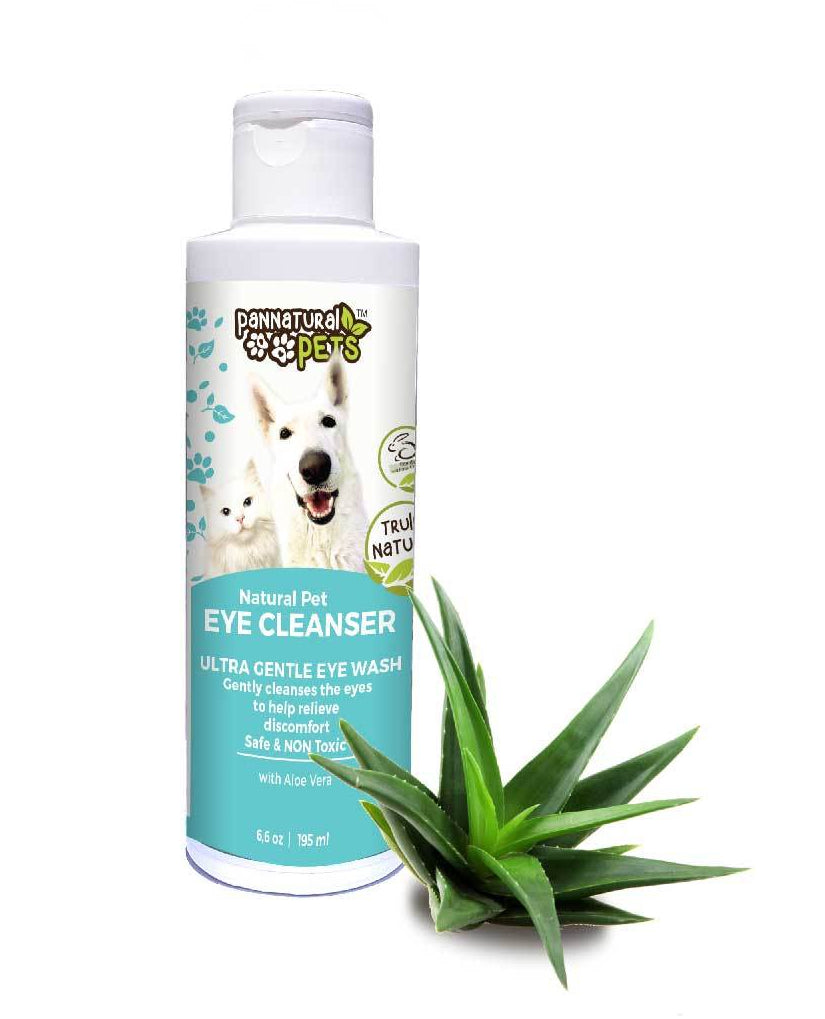 Natura Pet All Natural Eye Cleanser Prevents Infection in Dogs & Cats
