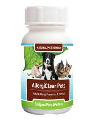 AllergiClear: Naturally prevents allergies in dogs & cats