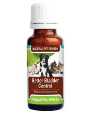 Better Bladder Control - Homeopathic remedy for incontinent dogs & cats