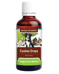 Cushex Drops - Natural remedy supports dog & cat adrenal health