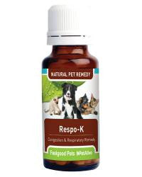 Respo-K: Natural remedy for pet respiratory relief